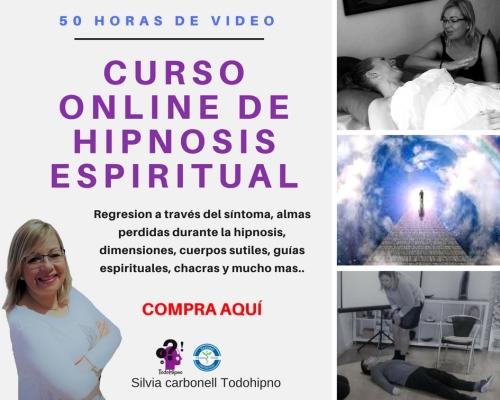 CURSO ONLINE HIPNOSIS ESPIRITUAL